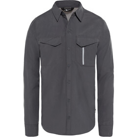 The North Face Sequoia Maglia a maniche lunghe Uomo, asphalt grey/mid grey